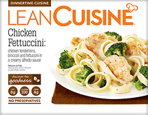 Chicken fettuccini